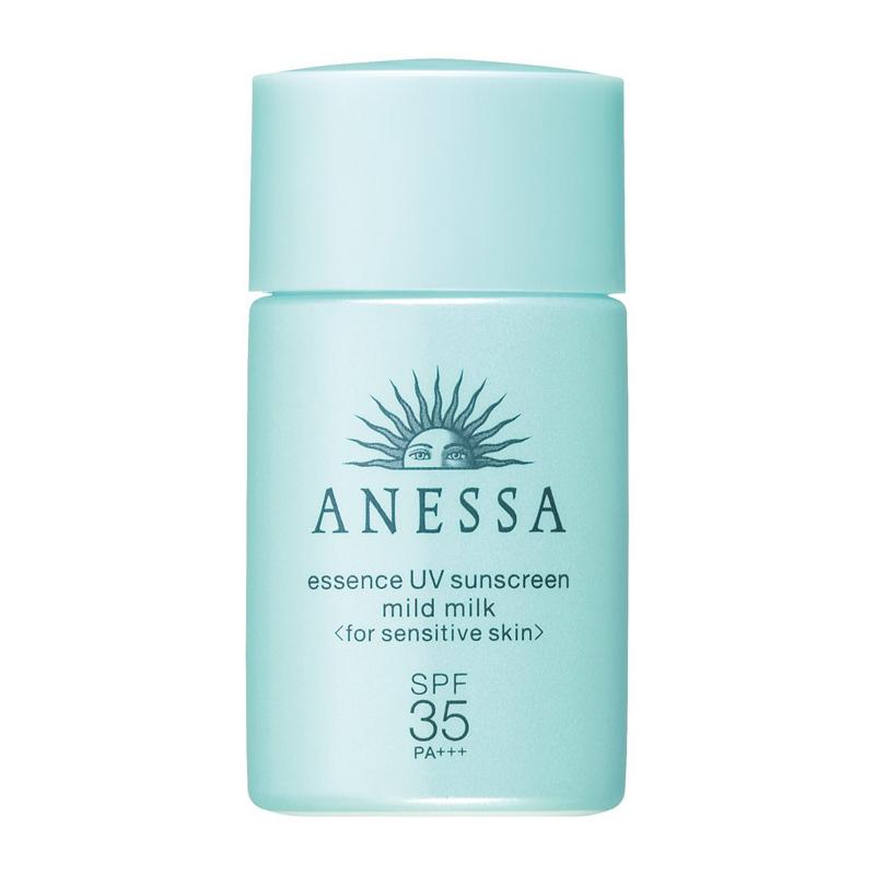 日本Shiseido资生堂 安耐晒儿童防晒霜 温和清爽保湿低刺激防晒乳 20ml