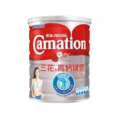 【6罐装】雀巢Carnation港版三花高钙健骨低脂奶粉中老年成人奶粉800g/罐2021.10